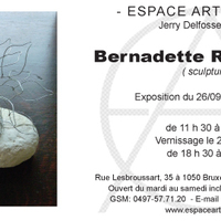 Announcement Exhibition Espace Art Gallery Septembre 2012 Published in 'Le Courrier International' 2012.08