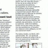 La Tribune de Bruxelles November 2009
